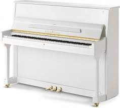 PIANOFORTE NUOVO SCHULZE POLLMANN NUOVO BIANCO LUCIDO-CENTRO PIANOFORTI IN VENETO