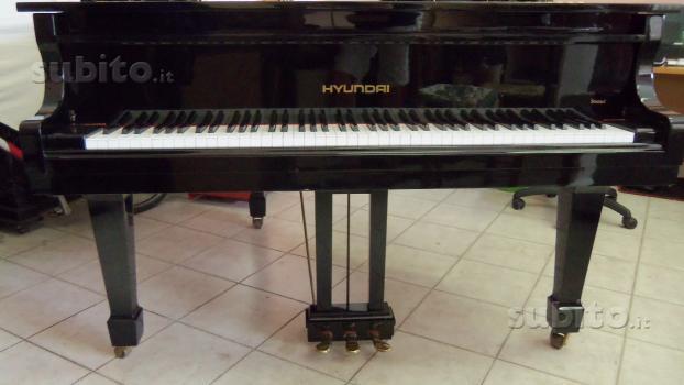 "PIANOFORTE 1/2 CODA USATO ""HYUNDAI""- GIAPPONESE!!"