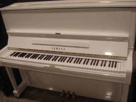 PIANOFORTE YAMAHA U1 BIANCO - YAMAHA U1-U3 BIANCO