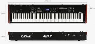 KAWAI MP 7 SE -PIANOFORTE DIGITALE KAWAI MP 7-SE