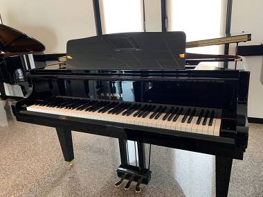 PIANOFORTE 1/4 DI CODA KAWAI NUOVISSIMO-PIANOFORTE KAWAI GM2 GIAPPONESE SEMINUOVO- PIANOFORTE KAWAI DA