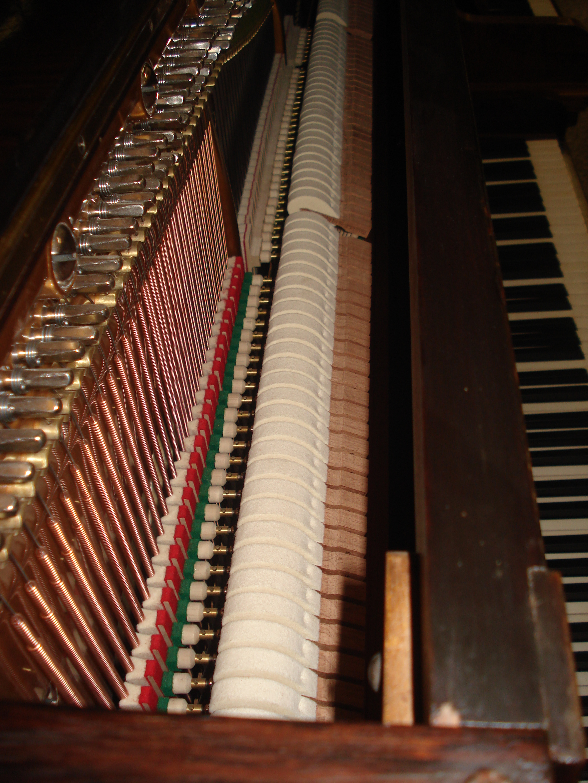 "Pianoforte Verticale-TEDESCO ""Bechstein"""