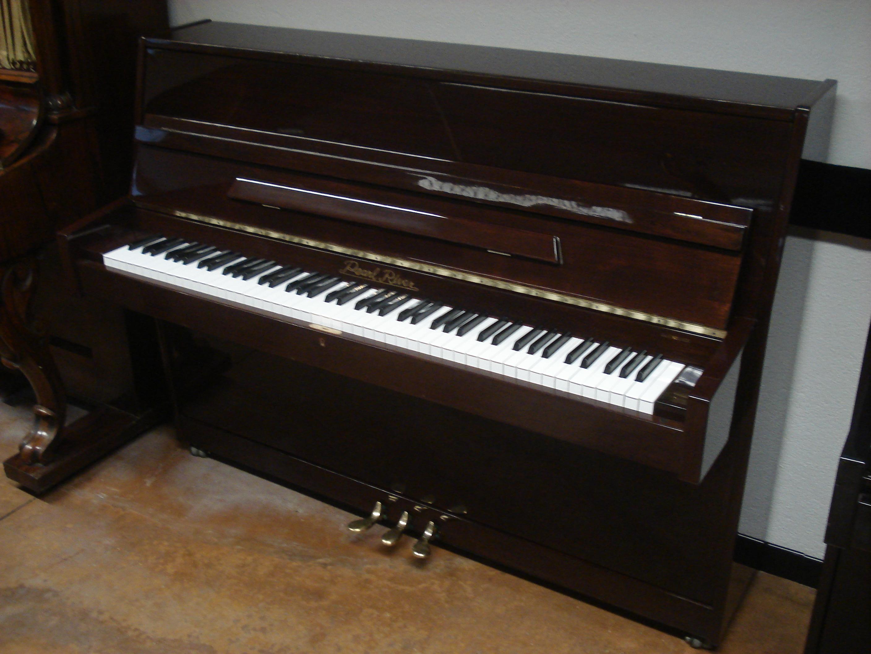 PIANOFORTE VERTICALE PEARL RIVER NOCE SATINATO