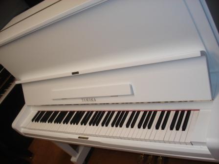 "PIANOFORTE BIANCO SATINATO ""TAMAKA"""