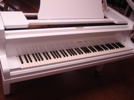 PIANOFORTE A CODA BIANCO- KAWAI