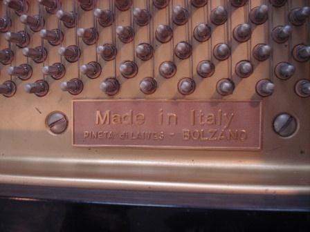 """PIANOFORTE A CODA """"SCHULZE  POLLMANN""""-USATO-OCCASIONE!!"""