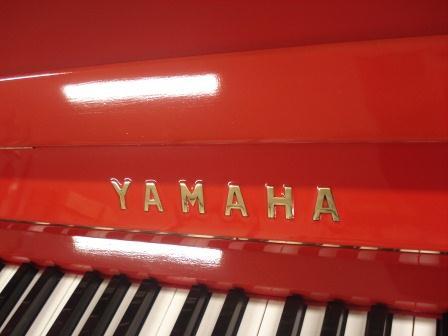 """PIANOFORTE VERTICALE YAMAHA U1-"""" ROSSO"""" – USATO- OCCASIONE!!"""