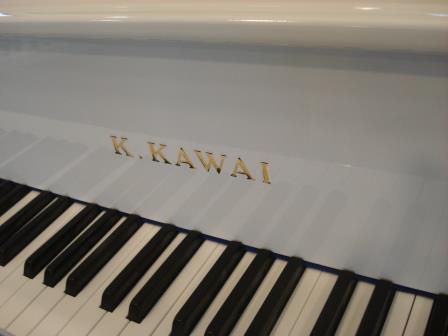 """PIANOFORTE A CODA """"BIANCO"""" KAWAI- KG3-USATO OCCASIONE!!"""