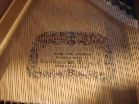 """PIANOFORTE A CODA """"KAWAI KG2″-USATO-1/2 CODA-OCCASIONE!!!!"""