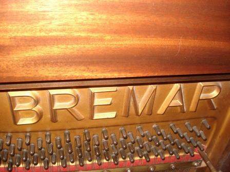 """Pianoforte Tedesco Usato- Occasione """"BREMAR""""- Noce-Legno!!"""