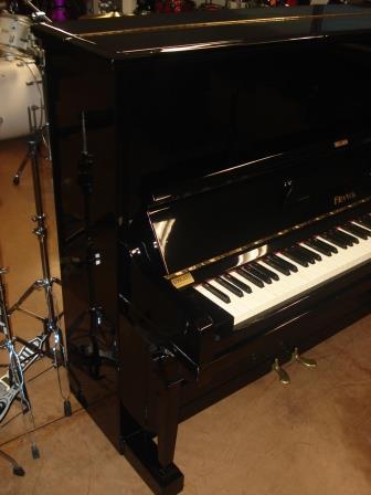 """Pianoforte Verticale Tedesco """"FRANK"""" """"Nero Lucido""""-Super Occasione!!"""