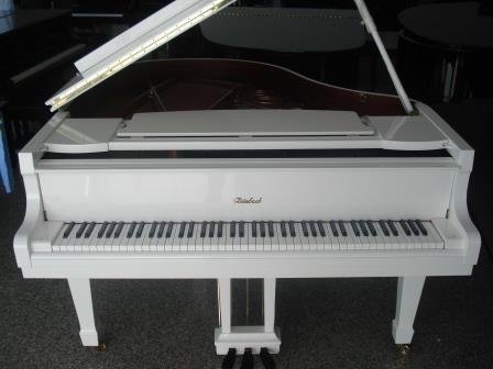 PIANOFORTE 1/4 DI CODA NUOVO- BIANCO-