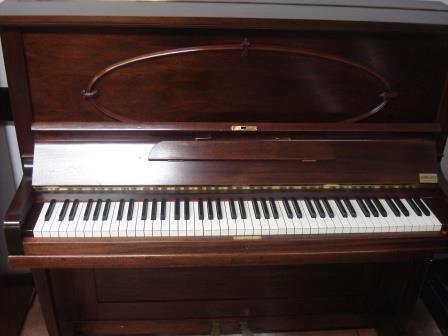 PIANOFORTE INGLESE- NOCE SATINATO- OCCASIONE!!!