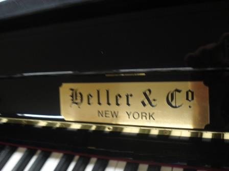 "PIANOFORTE VERTICALE ""SILENT""- HELLER & CO!!!"