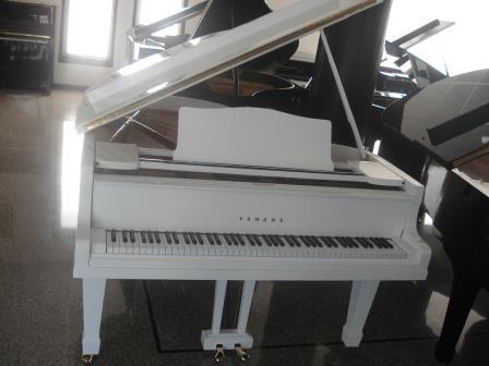 PIANOFORTE A CODA BIANCO