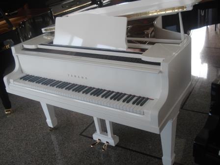 "PIANOFORTE A CODA BIANCO ""YAMAHA G2″-USATO-OCCASIONE!!"