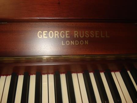 "Pianoforte Inglese ""GEORGE RUSSELL""-LONDON- USATO-RESTAURATO!!"