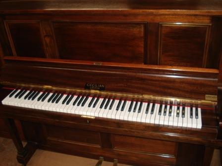 """PIANOFORTE VERTICALE """"CECILIAN LONDON""""-USATO GARANTITO!!!"""