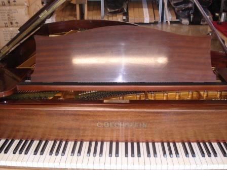 """""""C.BECHSTEIN""""-PIANOFORTE A CODA (CHIPPENDALE)-TEDESCO-USATO-OCCASIONE PIANOFORTI VENEZIA.."""