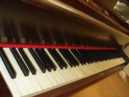 PIANOFORTE A CODA- USATO-OCCASIONE-CONSEGNA TUTTA ITALIA..