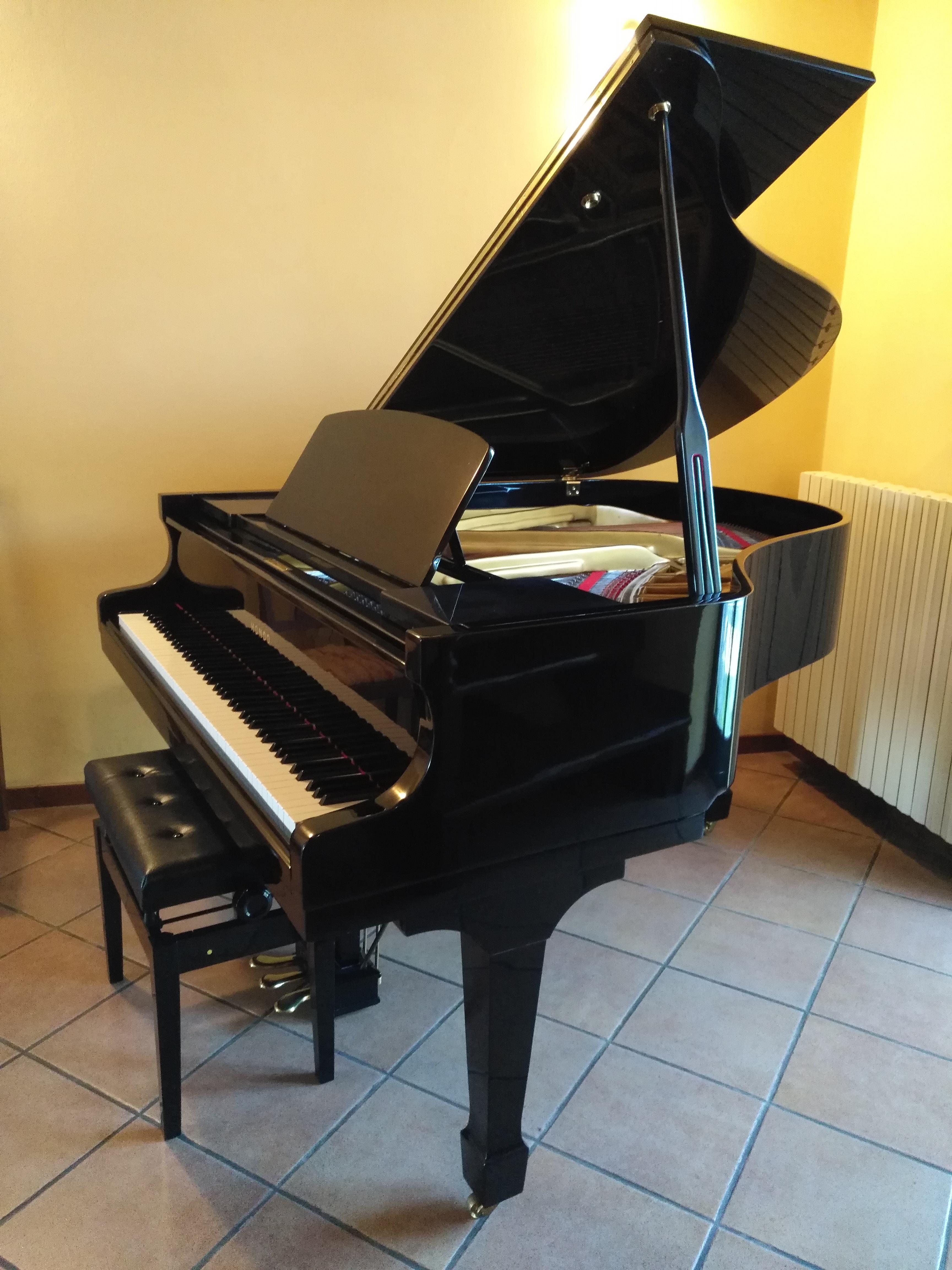 PIANOFORTE 1/4 CODA SEMINUOVO- OCCASIONE GIAPPONESE- PIANOFORTE A CODA SUPER OCCASIONE MADE IN JAPAN- PIANOFORTE A CODA
