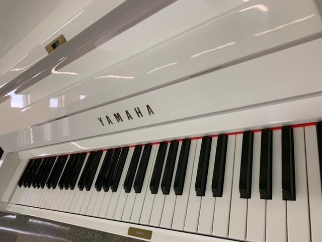 "PIANOFORTE YAMAHA U1 BIANCO ""SILENT""- PIANOFORTI YAMAHA USATI DA ""LONGATO PIANOFORTI"""