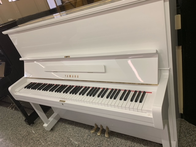 PIANOFORTE YAMAHA U1 BIANCO