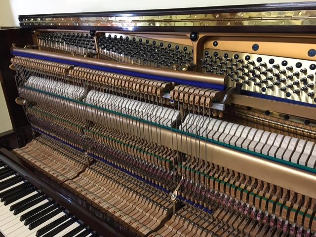 "PIANOFORTE VERTICALE TEDESCO ""BLUTHNER"""